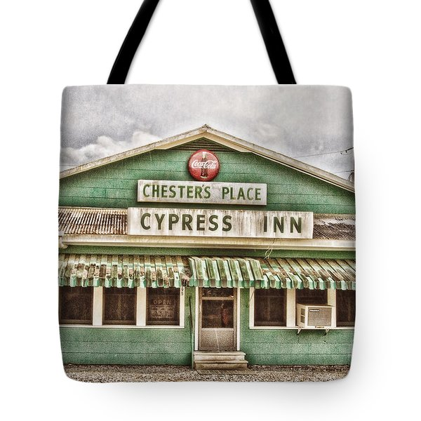 Chester's Place Tote Bag by Scott Pellegrin