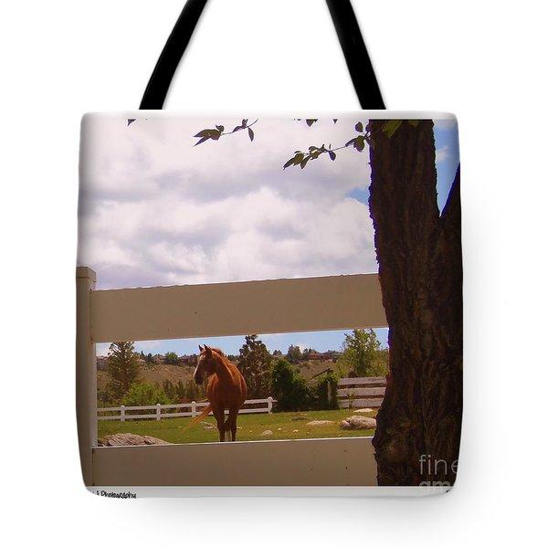 Chestnut Beauty Tote Bag by Bobbee Rickard