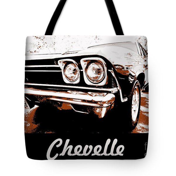 Chevelle Pop Art Tote Bag by Cheryl Young