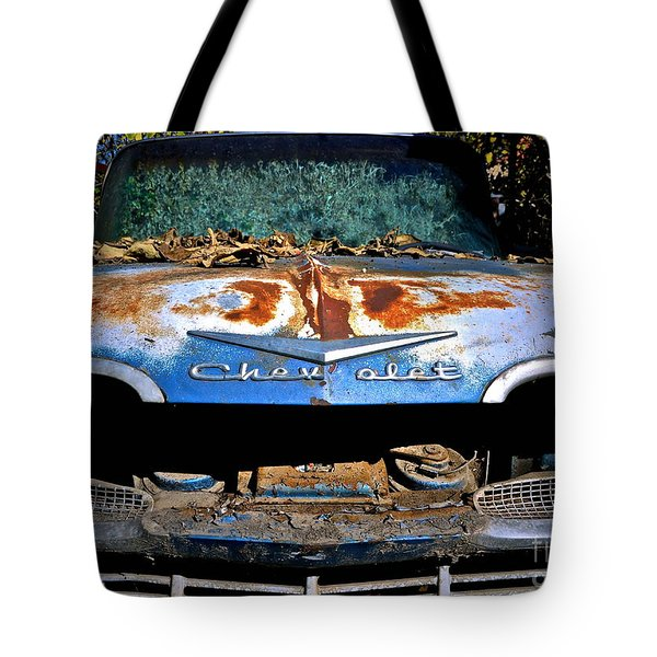 Chevrolet Picking Tote Bag by Gwyn Newcombe