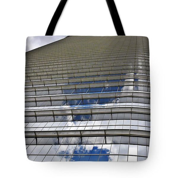 Chevron Corporation Houston Tx Tote Bag by Christine Till