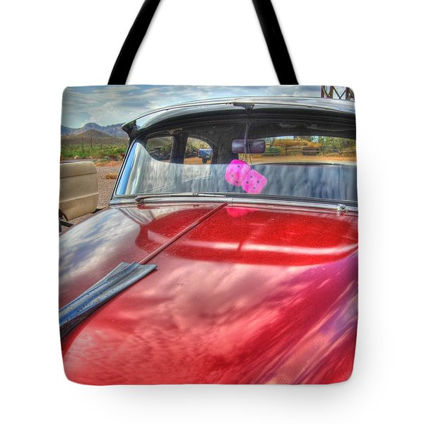 Chevy Classic Tote Bag by Tam Ryan