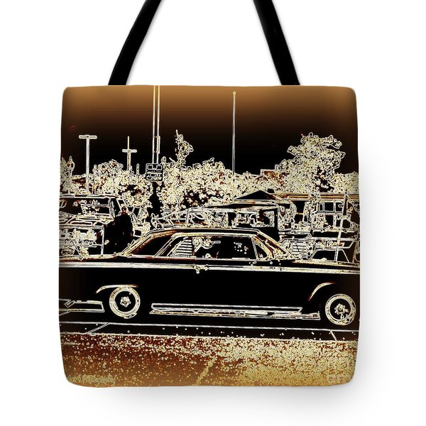 Chevy Glow Tote Bag by Bobbee Rickard