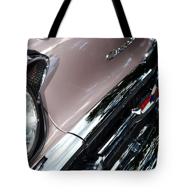 Chevy Tote Bag by Michelle Calkins