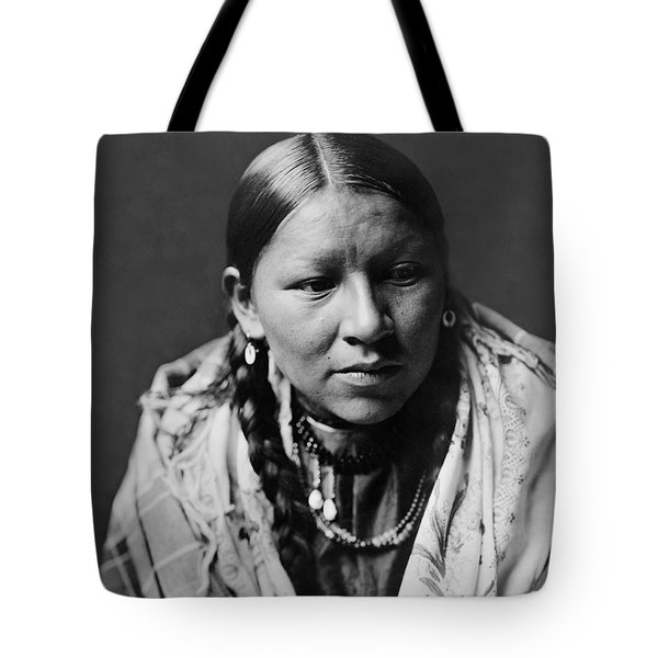 Cheyenne young woman circa 1910 Tote Bag by Aged Pixel