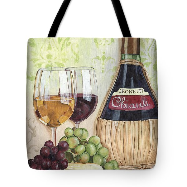 Chianti And Friends Tote Bag by Debbie DeWitt