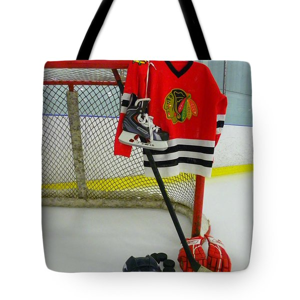 Chicago Blackhawks Home Hockey Jersey Photograph By Lisa Wooten