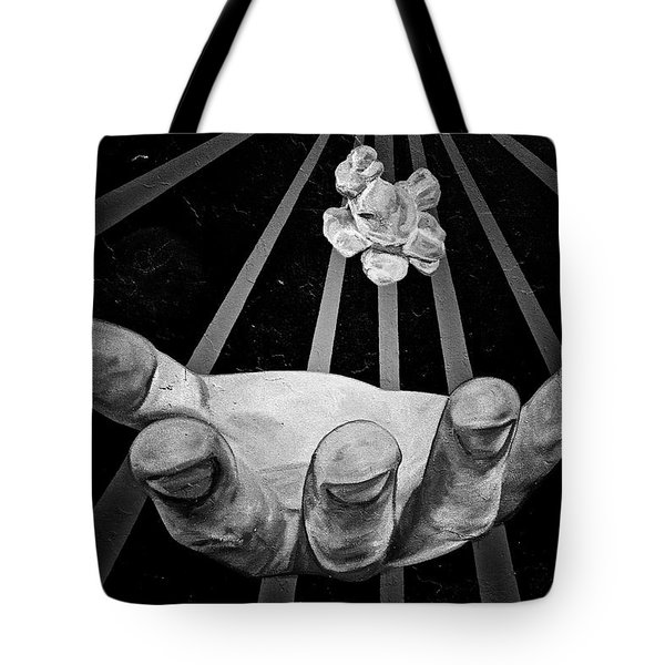 Chicago Graffiti Tote Bag by Christine Till