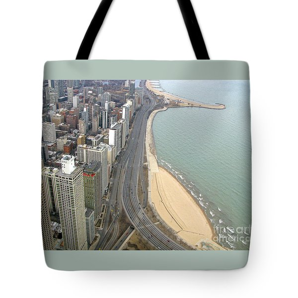 Chicago Lakeshore Tote Bag by Ann Horn
