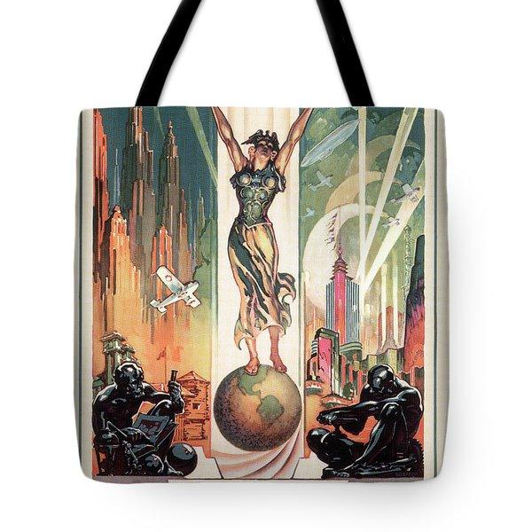 Chicago World's Fair 1933 Tote Bag by Granger