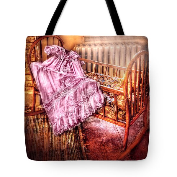 Children - It's a girl Tote Bag by Mike Savad