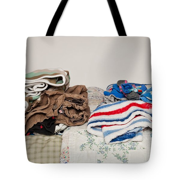 Child's Clothes Tote Bag by Tom Gowanlock