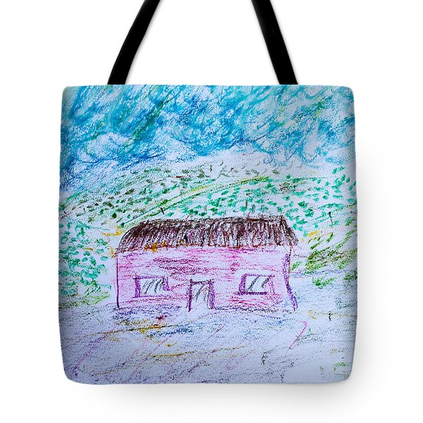 Child's drawing Tote Bag by Tom Gowanlock