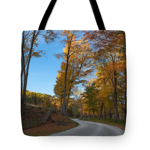 Chillin' on a Dirt Road Square Tote Bag by Bill  Wakeley