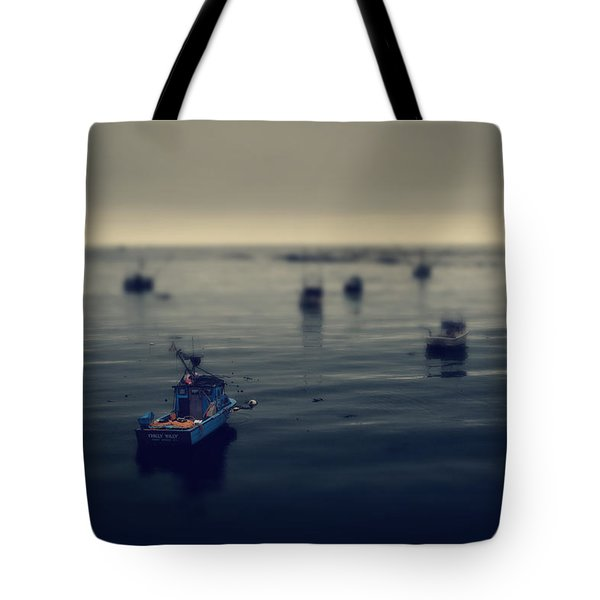 Chilly Willy Tote Bag by Laurie Search