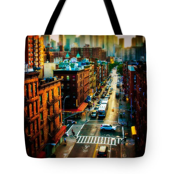 Chinatown Streets Tote Bag by Chris Lord