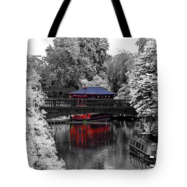 Chinese Architecture In Regent's Park Tote Bag by Maj Seda
