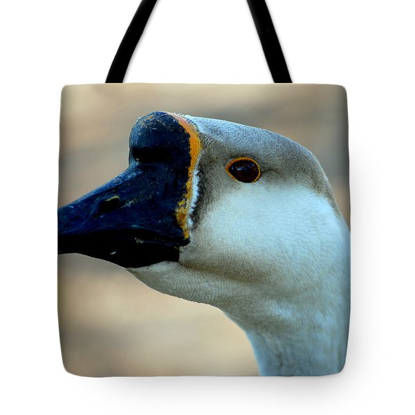 Chinese Goose Tote Bag by Lisa Phillips