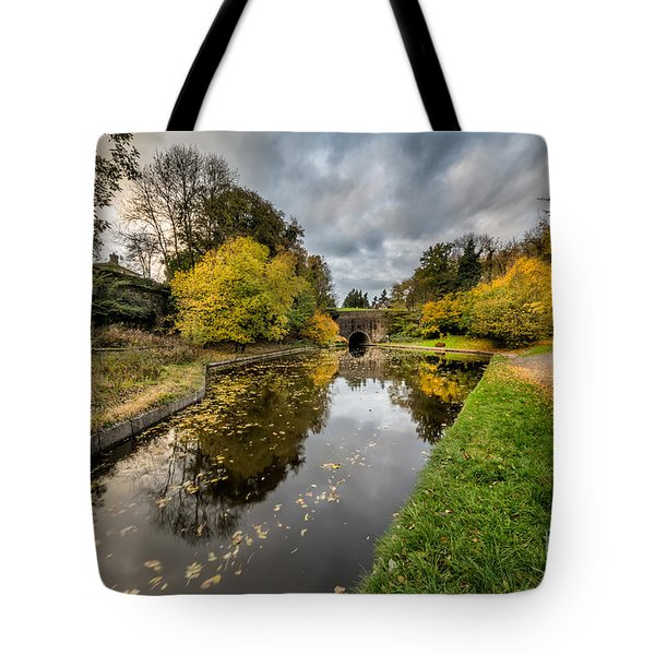 Chirk Canal Tote Bag by Adrian Evans