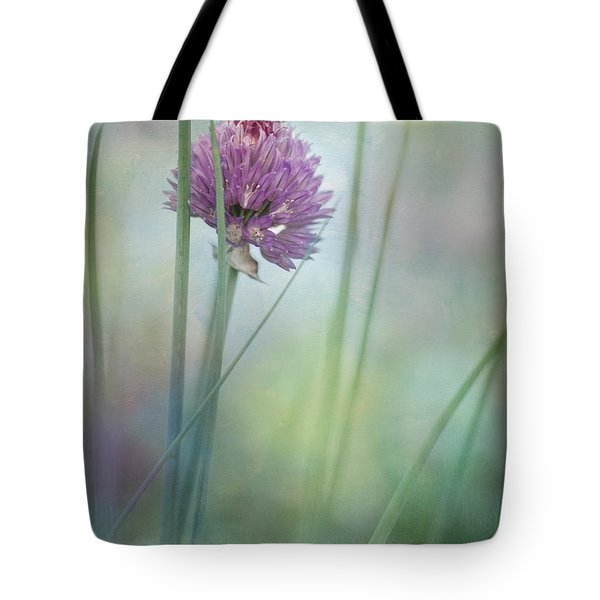 Chive garden Tote Bag by Priska Wettstein