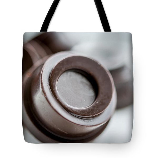 Chocolate Button - By Sabine Edrissi Tote Bag by Sabine Edrissi