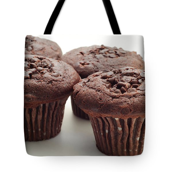 Chocolate Chocolate Chip Muffins - Bakery - Breakfast Tote Bag by Andee Design