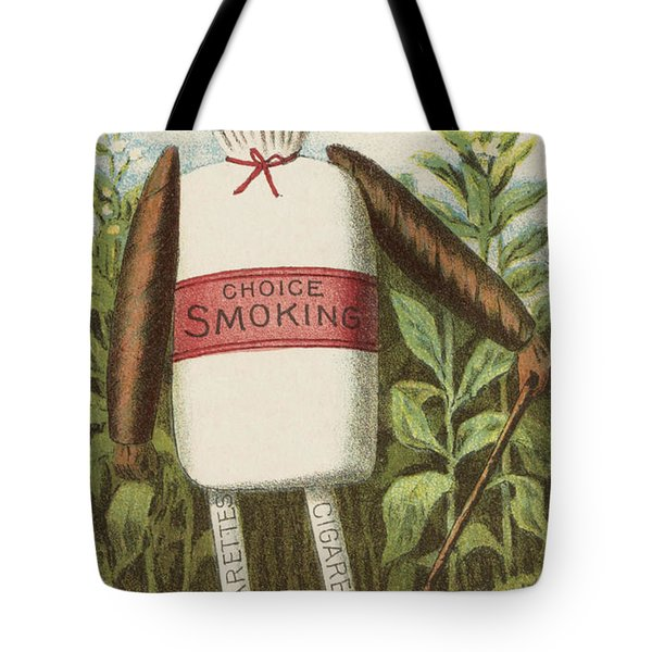 Choice Smoking Tote Bag by Aged Pixel