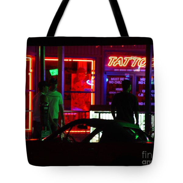 Choices After Midnight Tote Bag by Peter Piatt