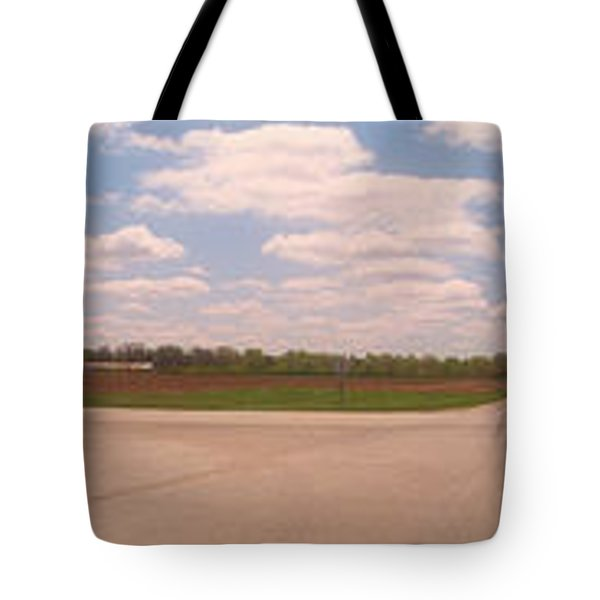 Choices At The Cross Roads Panorama Tote Bag by Thomas Woolworth