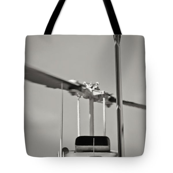 Chopper Back Tote Bag by Patrick M Lynch