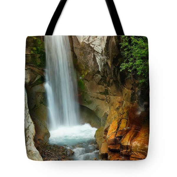 Christine Falls Tote Bag by Inge Johnsson