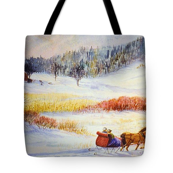 Christine's Ride Tote Bag by Marilyn Smith