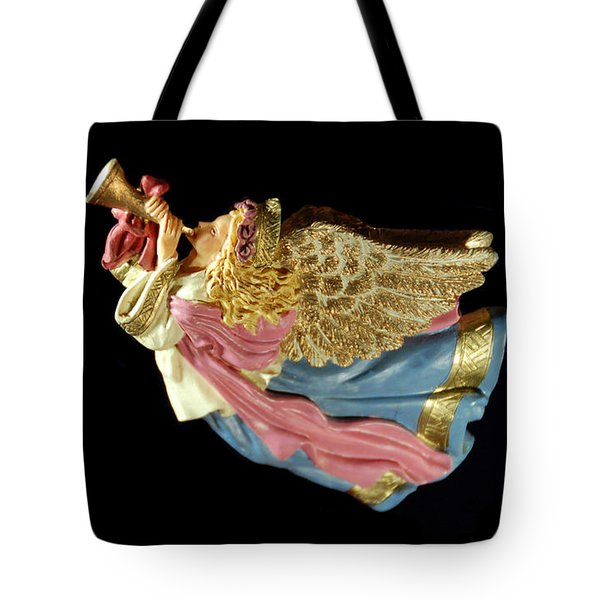 Christmas Angel Tote Bag by Aimee L Maher Photography and Art