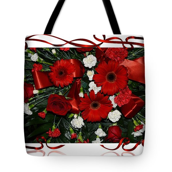 Christmas Bouquet  Tote Bag by Kathleen Struckle