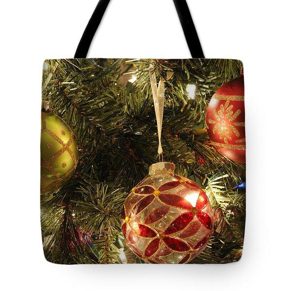 Christmas Cheer Tote Bag by Luke Moore
