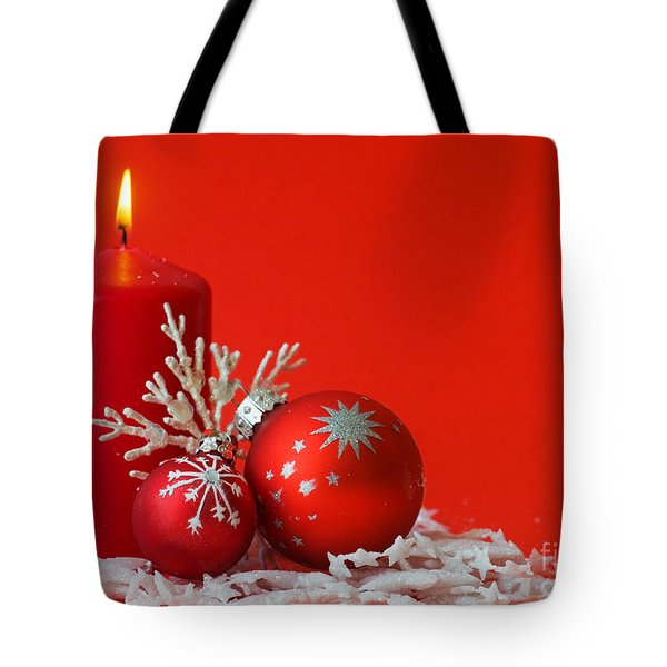Christmas Decoration Background Tote Bag by Michal Bednarek