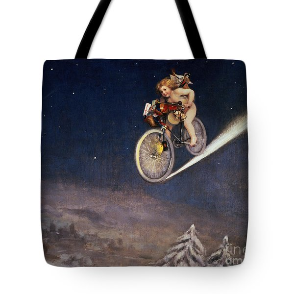 Christmas Delivery Tote Bag by Jose Frappa