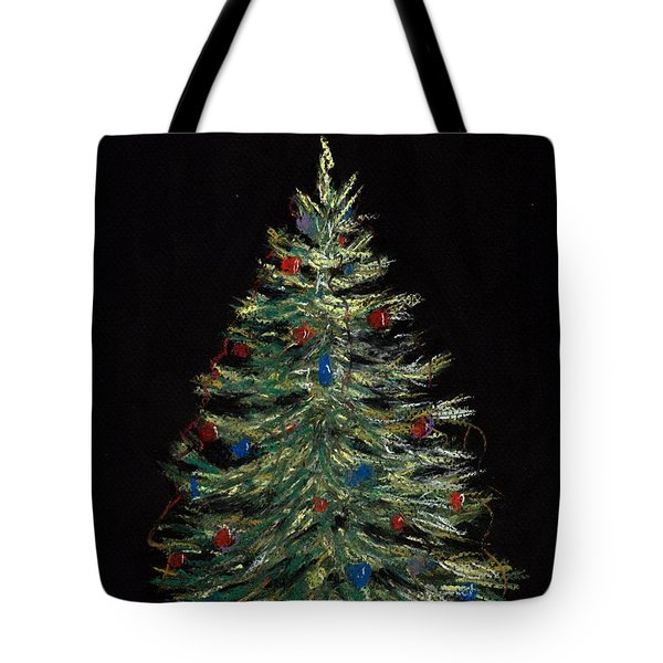 Christmas Eve Tote Bag by Anastasiya Malakhova