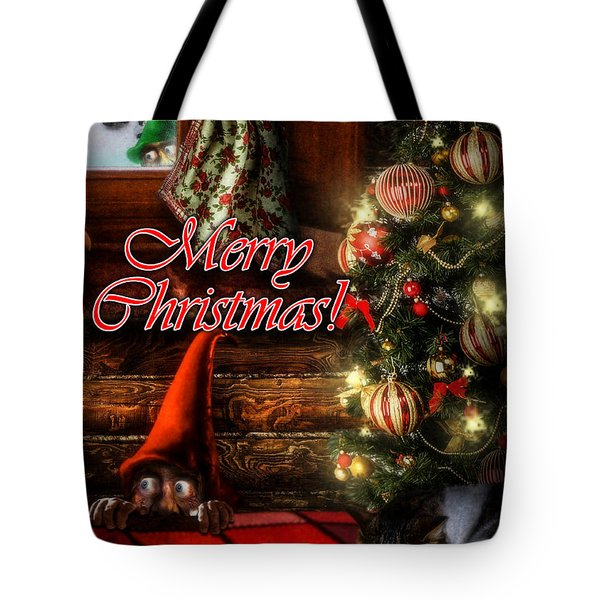 Christmas Greeting Card Viii Tote Bag by Alessandro Della Pietra