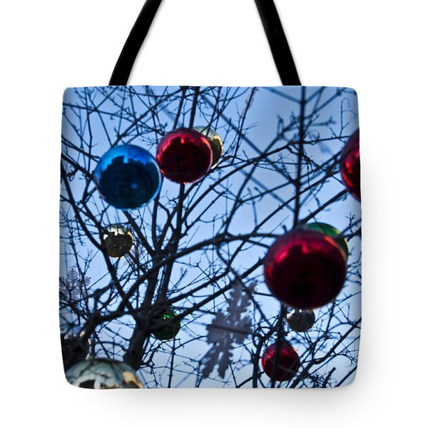 Christmas Is Looking Up This Year Tote Bag by Bill Cannon
