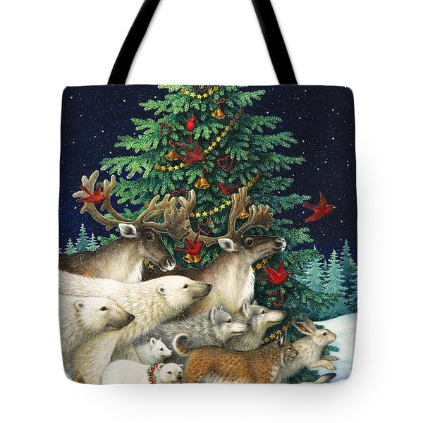 Christmas Parade Tote Bag by Lynn Bywaters