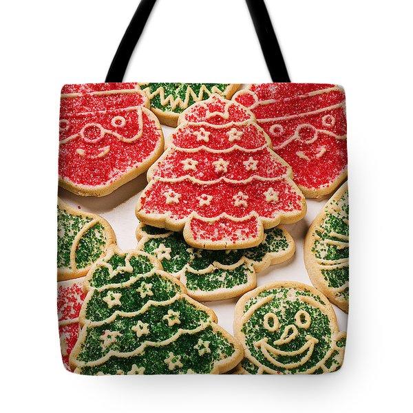 Christmas sugar cookies Tote Bag by Garry Gay
