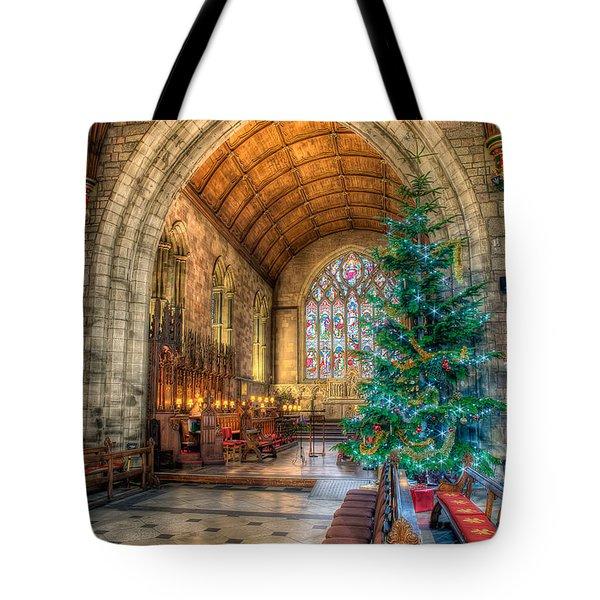 Christmas Tree Tote Bag by Adrian Evans