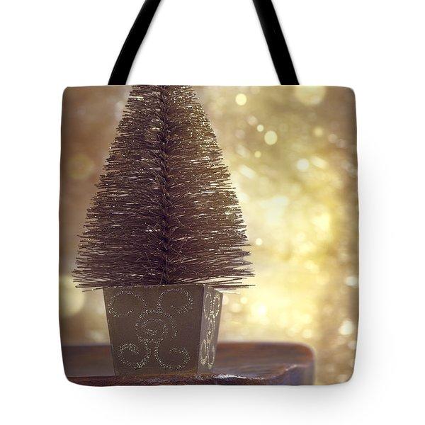 Christmas Tree Tote Bag by Amanda And Christopher Elwell