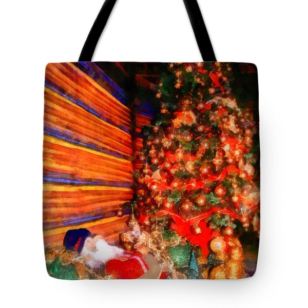 Christmas Tree Tote Bag by George Rossidis
