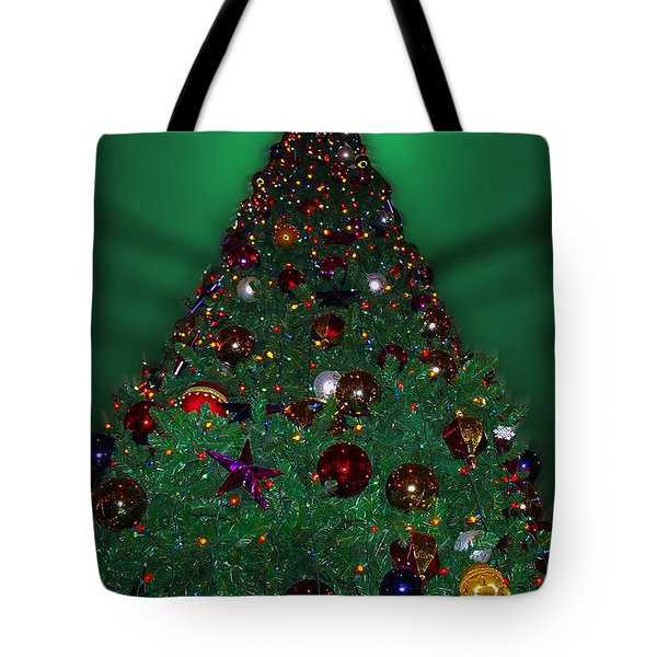 Christmas Tree Tote Bag by Thomas Woolworth