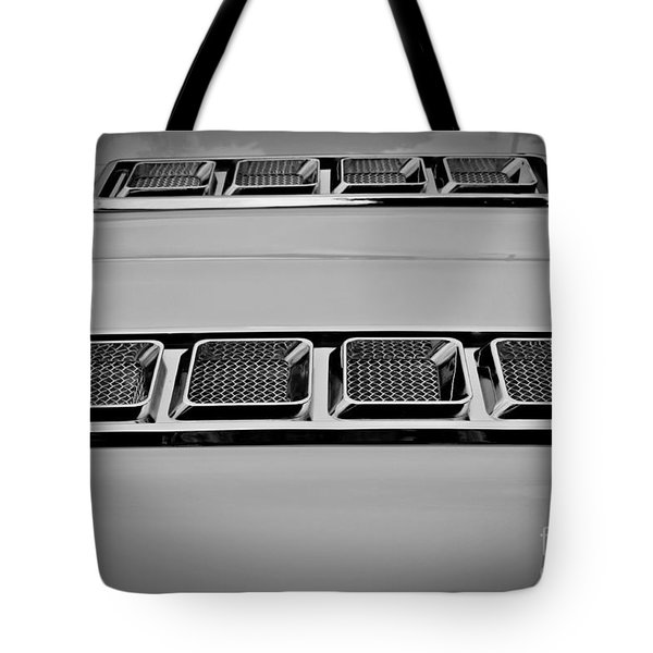 Chrome Tote Bag by Chalet Roome-Rigdon