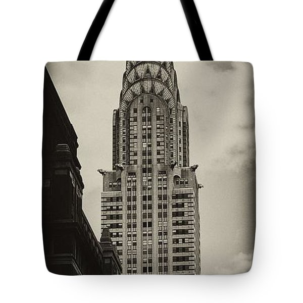 Chrysler Tote Bag by Andrew Paranavitana