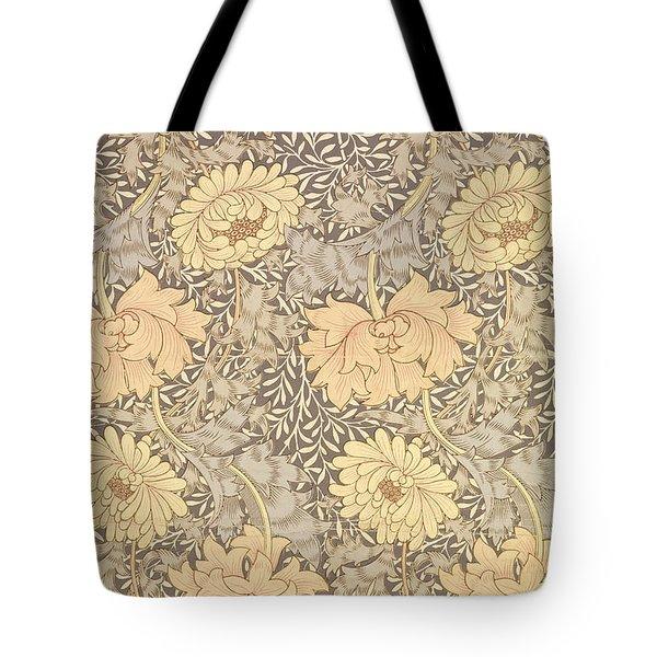 Chrysanthemum Tote Bag by William Morris