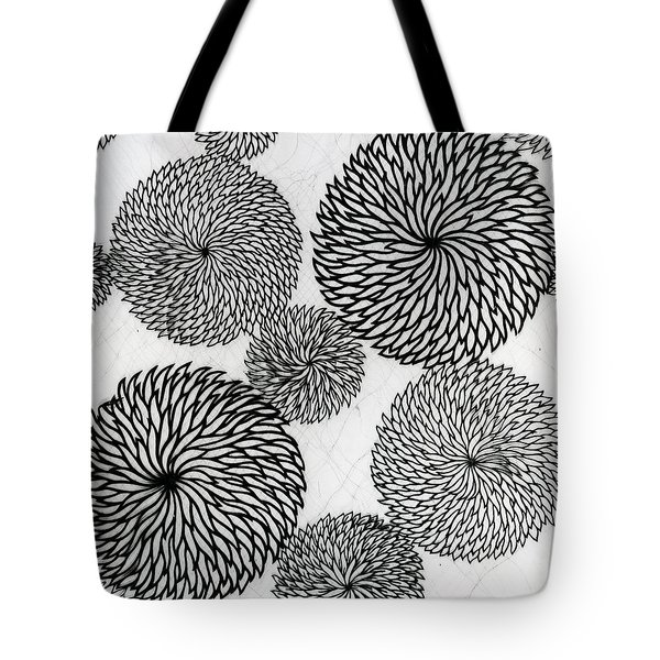 Chrysanthemums Tote Bag by Japanese School